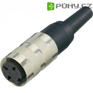 Kabelová zásuvka rovná Amphenol T 3636 001, 12pól., 3 - 6 mm, IP40