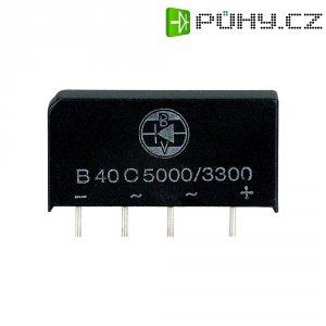 Můstkový usměrňovač Diotec B80C5000-3300, U(RRM) 200 V, 3,3 A (5 A)