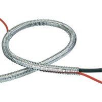 Ochranná hadice na kabely HP Autozubehör 10102, vnitřní Ø 10,4 mm, 2 m, chrom