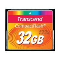 Paměťová karta CF Transcend Standard, 32GB, 133x