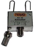 Anténní zesilovač pásmový K21-69 dvoutranzistorový, TEROZ 453K