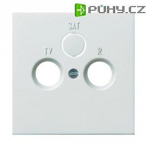 Rámeček TV/RADIO/SAT Gira, standard 55, čistá bílá (0869112)