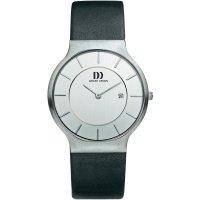 Ručičkové náramkové hodinky Danish Design, 3314371, kožený pásek