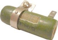 15R PEVR-10, rezistor 10W drátový s odbočkou /~TR556/