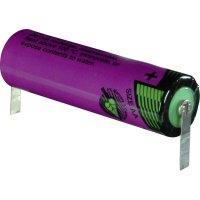 Lithiová baterie Tadiran SL-760/T, typ AA, s pájecími kontakty