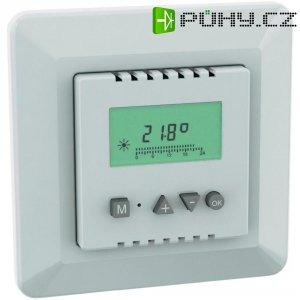 Programovatelný pokojový termostat s exter. detektorem 6060c0600aw, 10 až 50 °C,