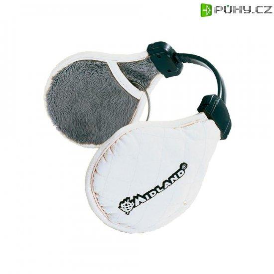 Headset Midland SubZero, s chráničem uší, bílý - Kliknutím na obrázek zavřete