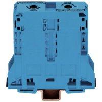 Průchozí svorka Wago 285-194, pružinová, 25 mm, modrá