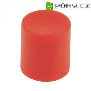 Krytka tlačítka Cliff CP3411, 4/6 mm, červená