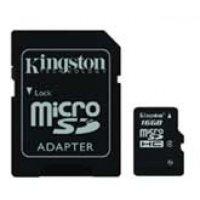 pamětová karta 16GB microSDHC Class10 Flash Card s adaptérem *