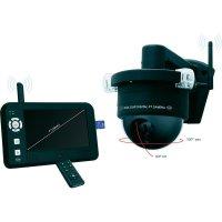 """Bezdrátová venkovní kamera Dome s monitorem 7\"""" Elro, CS99PT, 640 x 480 px"""