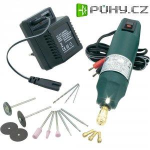 Minivrtačka s LED osvětlením a13dílnou sadou nářadí