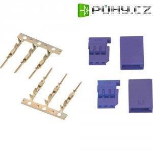Futaba konektor Modelcraft, sada 2 ks, modrá
