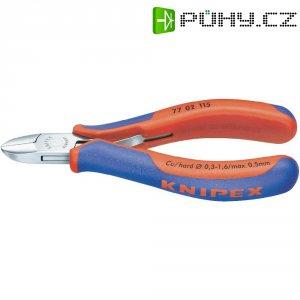 Stranové štípací kleště Knipex 77 02 115, 115 mm, kulatá hlava s fazetou