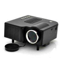 Mini LED projektor, domácí kino - HDMI,VGA,USB,SD,napájení110-240V/24W