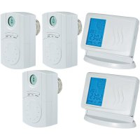 Sada bezdrátového termostatu a bezdrátového servopohonu, 7 až 35 °C