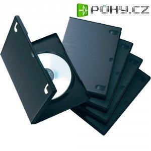 DVD box, 15mm, 5ks, černá