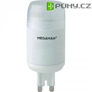 LED žárovka Megaman, MM49112, G9, 4 W, 230 V, stmívatelná, teplá bílá