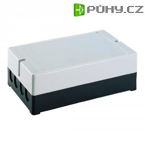 Nástěnné pouzdro polystyrolové Axxatronic, (d x š x v) 190 x 115 x 60 mm, šedá
