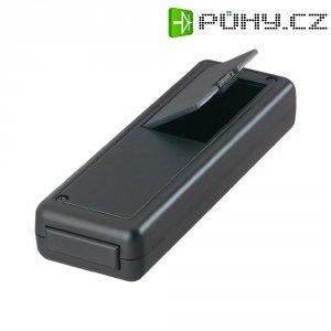 Univerzální pouzdro ABS Strapubox, 135 x 44 x 24 mm, černá (6094 ČERNÉ)