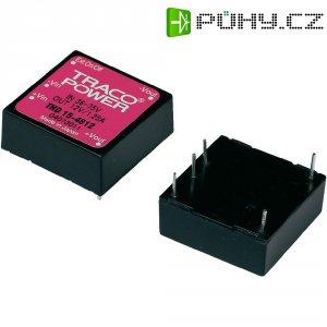 DC/DC měnič TracoPower THD 15-2423, vstup 18 - 36 V/DC, výstup ±15 V/DC, ±500 mA, 15 W