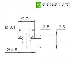 Izolační průchodka KSS V5357, 7,1/3,1 mm