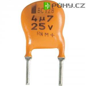 Kondenzátor elektrolytický Vishay 2222 128 36109, 10 µF, 25 V, 20 %, 6 x 8 x 10 mm