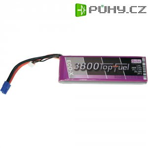 Akupack Li-Pol (modelářství) Hacker, 7.4 V, 3800 mAh, 20 C, EC3