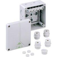 Propojovací krabice Spelsberg Abox 060 - 6², IP65, šedá, 80640701