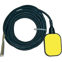 Plovákový spínač pro napouštění/vypouštění Zehnder Pumpen 14527, 2 m, žlutá/černá