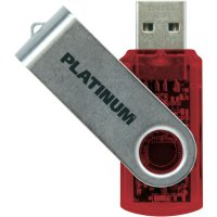 Flash disk Platinum Twister 64 GB červený