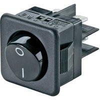 Kolébkový spínač s aretací SCI R13-104A-01, 250 V/AC, 10 A