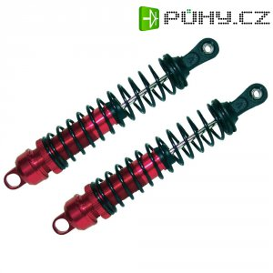 Olejový tlumič Reely, 154 mm, červená/černá, 1:8, 2 ks (34A143A03)