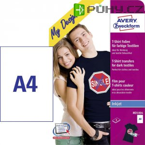 Avery-Zweckform MD1004 MD1004 A4 optimalizovaný pro tisk inkoustem 8 listů