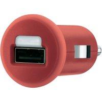 USB nabíječka do auta Belkin F8J018cwRED, červená