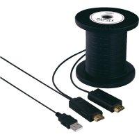 HDMI LWL hybridní kabel Speaka, 491108, HDMI zástrčka ⇔ HDMI zástrčka, 100 m