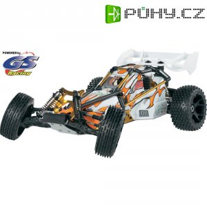 RC model buggy Reely by GS Racing GSC8020AENGBL Desert Devil, Nitro, 1:7, 2WD, RtR