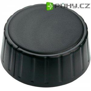 Otočný knoflík Mentor 4335.6000, 6 mm, matně černá