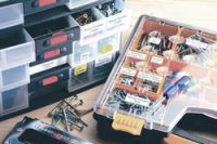 Páska do štítkovače Brother TZ-211, 6 mm, TZe, TZ, 8 m, černá/bílá