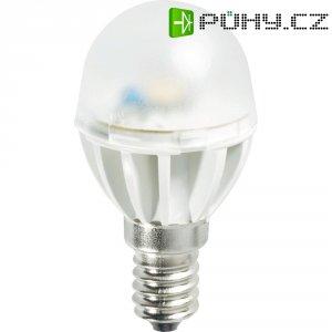 LED žárovka Miniglobe E14, 4.4W, teplá bílá