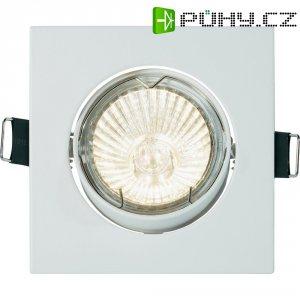 Vestavné svítidlo Basetech Square CT-3112, GU10, 35 W, bílá/kov