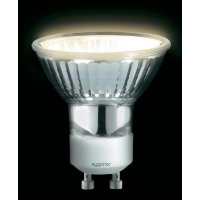 Halogenová žárovka Sygonix, 230 V, 25 W, GU10, Ø 50 mm, stmívatelná, teplá bílá