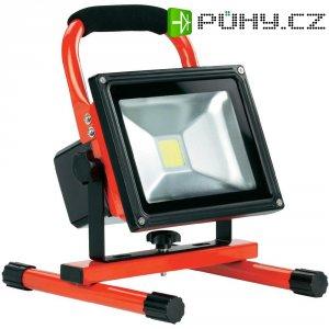 Akumulátorový stavební reflektor Ampercell 09010, 20 W, černá/oranžová