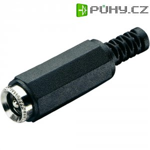 Napájecí konektor BKL 72224, zásuvka rovná, 3,5/3,5 mm