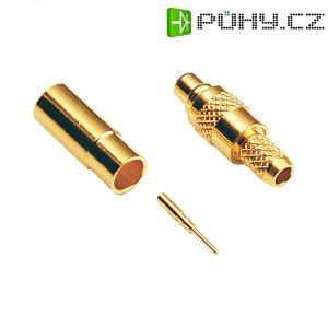MMCX konektor BKL 416602, 50 Ω, zásuvka rovná
