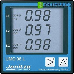 Univerzální měřicí přístroj Janitza UMG 96S M-Bus/Modbus