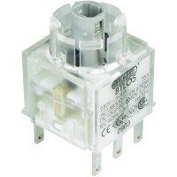 Tlačítko bez krytky Schlegel, BTLO5, 250 V