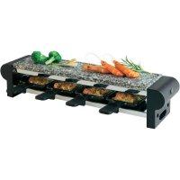 Stolní raclette gril Korona 45040, 600 W, černá/tmavě šedá