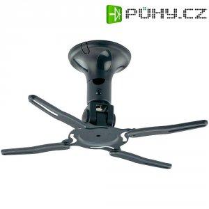 Stropní držák projektoru, otočný o 360 °, nosnost 10 kg, černý