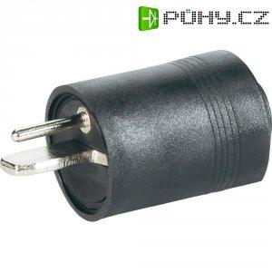 Konektor reproduktoru 2pól. BKL 205003, zástrčka rovná, černá